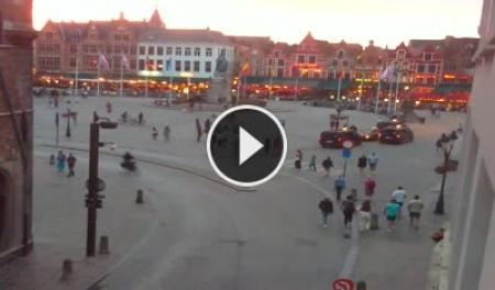Webcam en direct La Grand-Place de Bruge