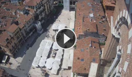 Webcam Verona - Piazza Erbe