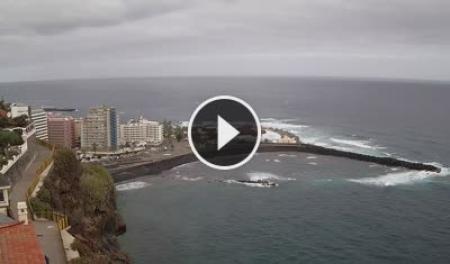 Cámara web en directo Tenerife - Puerto de la Cruz