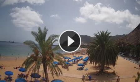 Webcam Playa de Las Teresitas - Tenerife