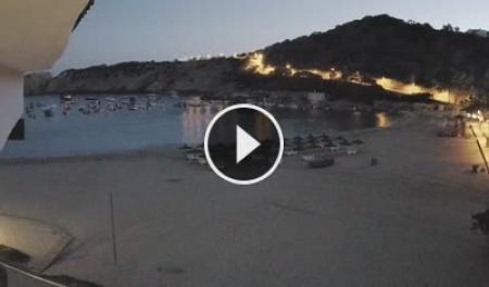 Cámara web en directo Cala Vadella - Ibiza