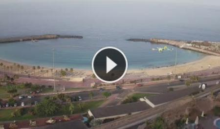 Webcam Puerto Rico de Gran Canaria - Playa de Amadores
