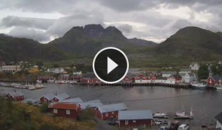 Live Cam Lofoten Islands - Sørvågen