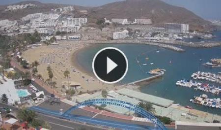 Cámara web en directo Mogán - Playa de Puerto Rico