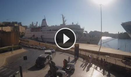 Kamerka na żywo Grand Harbour - Valletta