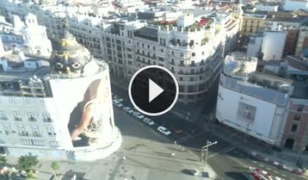 Cámara web en tiempo real Edificio Metrópolis - Madrid