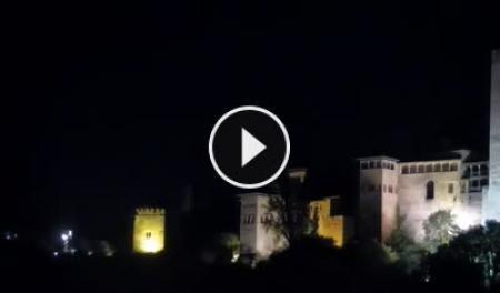 Cámara web en tiempo real La Alhambra de Granada
