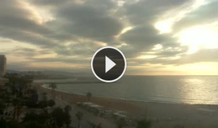 Live Cam Sant Sebastià Beach - Barcelon