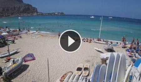 Webcam Vedetta spiaggia di Mondello - Palermo