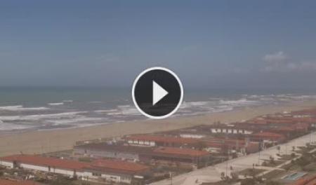 Webcam Viareggio, veduta sul lungomare la Terrazza della Repubblica