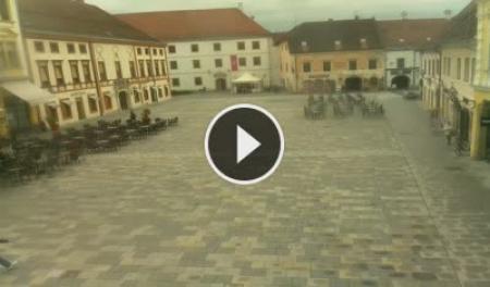 Web Kamera uživo Trg Kralja Tomislava - Varaždin