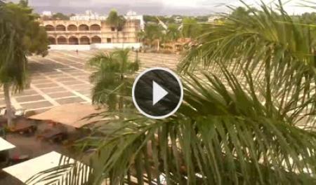 Cámara web en tiempo real Santo Domingo - Plaza de España