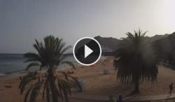Santa cruz de tenerife-playa Las teresitas-Canary Islands-tenerife-live webcam