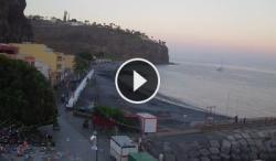 Webcam Live,La Gomera en vivo,en vivo alajero,playa de santiago en directo,