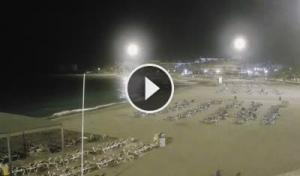 los cristianos-las vistas beach-arona-webcam canary islands-tenerife live