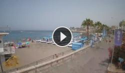 playa fañabe-costa adeje-webcam canarias-tenerife-en vivo
