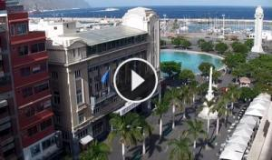 santa cruz de tenerife-candelaria square-webcam canary islands-tenerife live