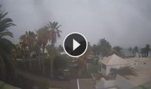 Lanzarote-costa teguise-playa de las cucharas-Webcam Canarias en vivo