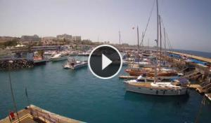 colon harbor-adeje-webcam canary islands-tenerife live