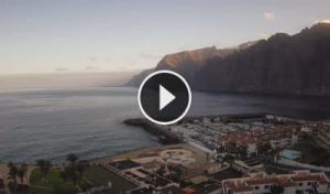 los gigantes-santiago del teide-cliff-webcam canary islands-tenerife live